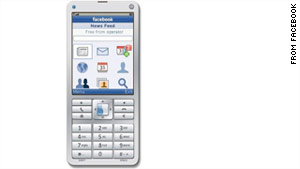 Facebook announced to launch the application for feature phones