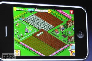 FarmVille for iPad users