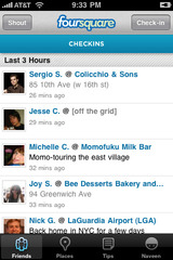 Foursquare iPhone app Review