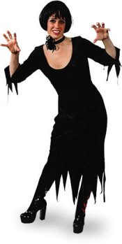 Halloween Black Dress