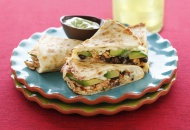 Healthy & Delicious: Open-faced Quesadillas with Chevre & Pepitas