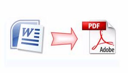 How to convert Word Document to PDF