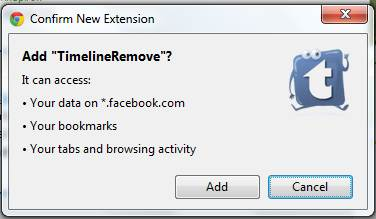 How to Disable Facebook Timeline in Chrome