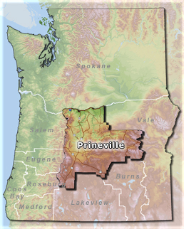 Oregon BLM (Bureau of Public Land Management) Prineville District