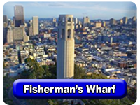 Visiting Fisherman's Wharf, San Francisco